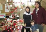 Цвети Терзиева с изложба на мартеници в сградата на НАП Разград