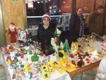 Майстор Цвети Терзиева на Коледно-новогодишния базар в Исперих