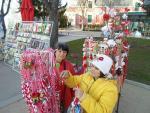 Майстор Цвети Терзиева на традиционния мартенски базар