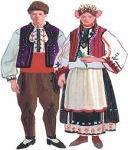 Женско и мъжко капанско облекло