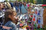 Цвети Терзиева на Карнавала на плодородието