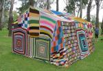 Плетена палатка