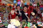 Коледните красоти на майстор Цвети Терзиева на Коледния АРТ базар в Разград