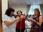 """Мастър клас """"Изработка на гривни – плетени на пръсти"""" на майстор Цвети Терзиева в Орфей Палас"""