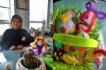 Великденска работилничка в НАП-Разград с майстор Цвети Терзиева