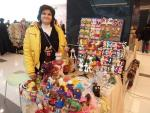 Майстор Цвети Терзиева на Коледното изложение в МОЛ Русе