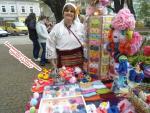Цвети Терзиева на Пролетния празник на занаятите в Шумен