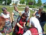 Световен ден на плетенето на открито в Разград с Цвети Терзиева